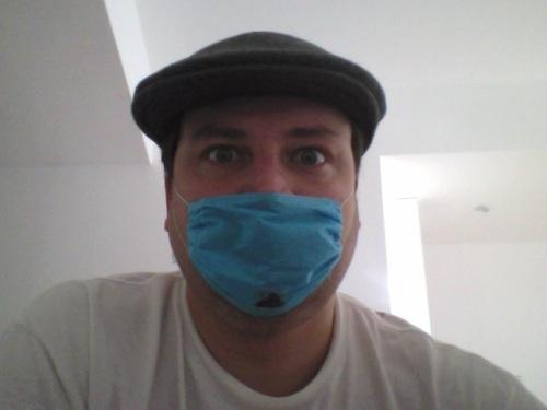 Mr. Singer with mask