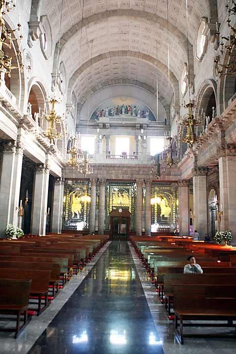 La Catedral del Zócalo vacía